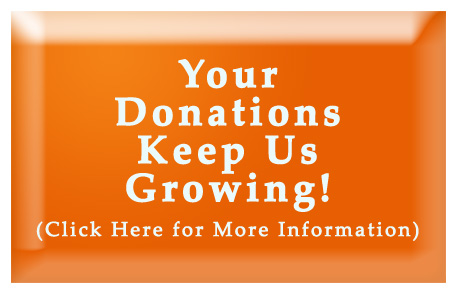 Your donations make all the difference in the world!
