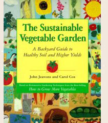 The Sustainable Vegetable Garden is perfect for beginning biointensive gardeners. Available From Bountiful Gardens.