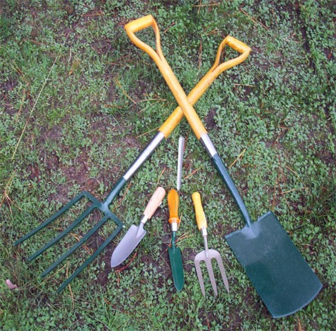 Ecology action faq for Gardening tools required